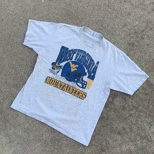 Vintage 90's WVU Football Shirt